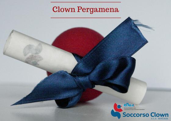 Clown pergamena - bomboniere solidali