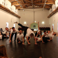 Spoleto  Master class attire clown Accademia Silvio D'AMICO 2
