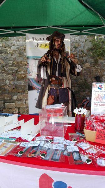 Jack Sparrow al Castello Fatato di Signa