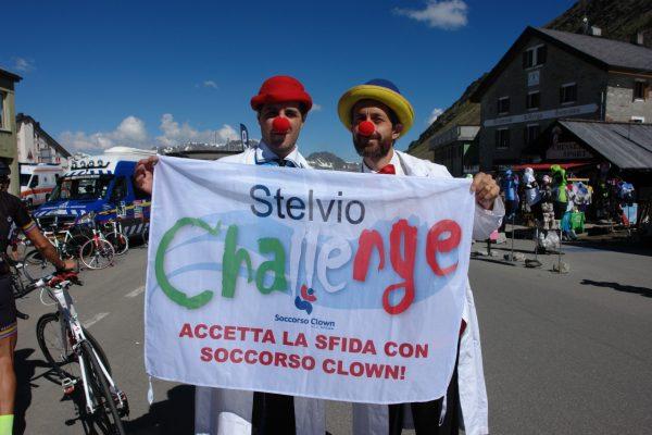 clown allo stelvio challenge 2016